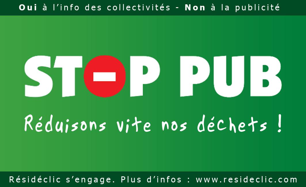 Stop Pub - Un petit geste, un gros impact