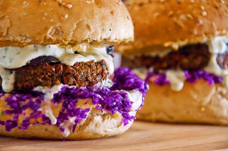 Wild Note vegan burger