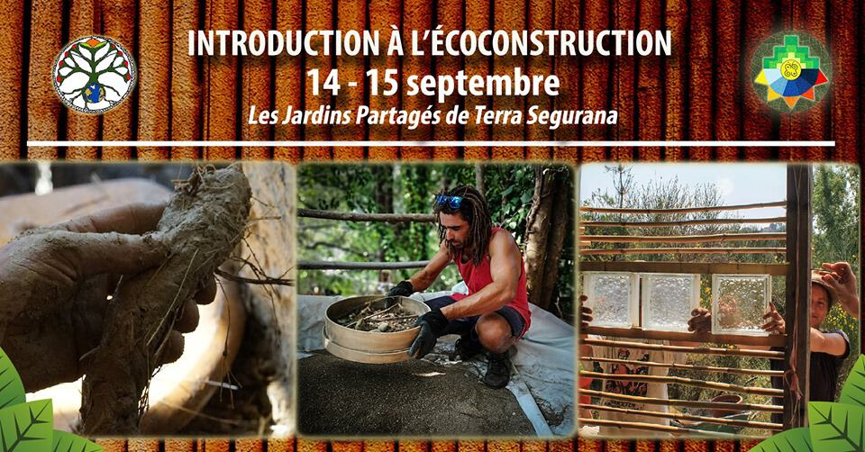 Introduction à l'Écoconstruction - Terra Ségurana 1