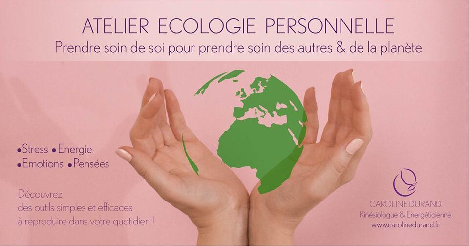 Écologie personnelle: comment s'économiser soi-même ? Paris 1