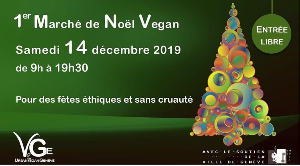 1er marché de Noël vegan à Genève 1