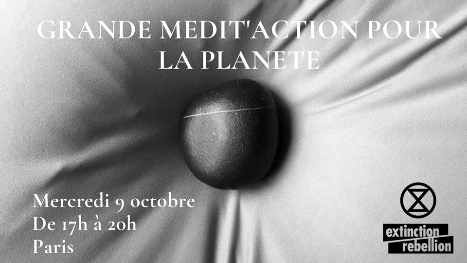 Grande Médit'Action pour la planète à Paris 1