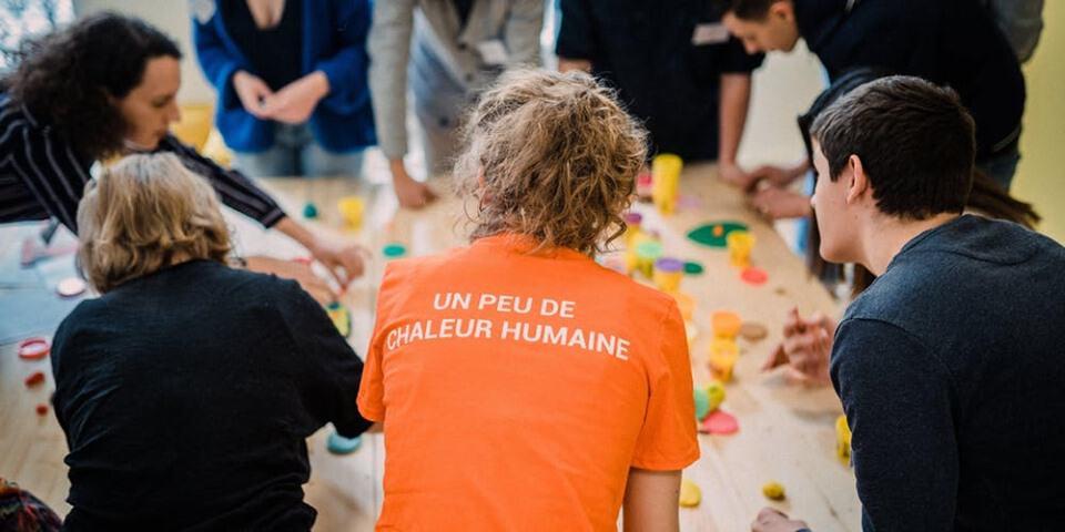 Paris / Atelier de sensibilisation au monde de la rue 1