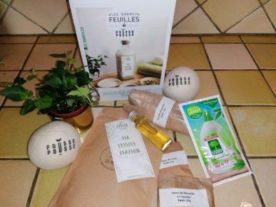Pousse Pousse box eco responsable zéro déchet