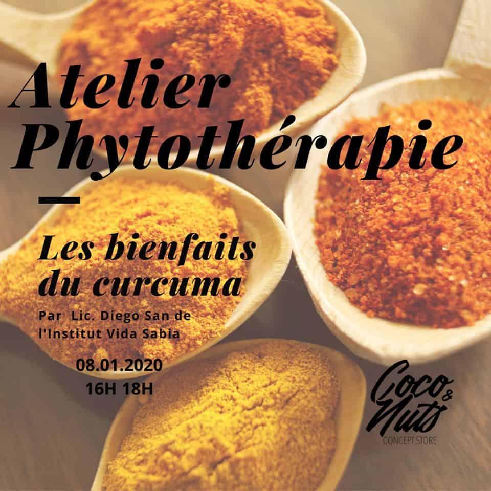 Atelier Phytotherapie chez Coco&Nuts à Marseille 1