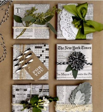 Top 10 des idées récup originales pour emballer ses cadeaux 3