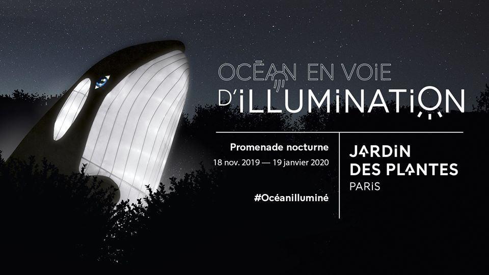 Océan en voie d'illumination au Jardin des Plantes à Paris 1