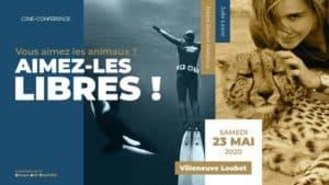 Ciné conférence: captivité VS liberté – Villeneuve Loubet (06)
