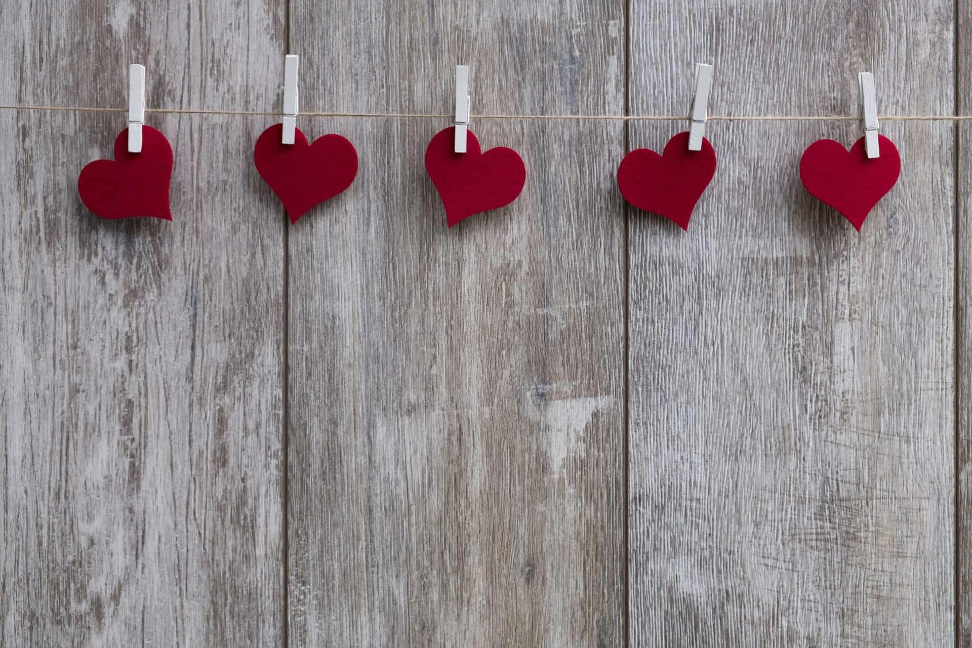 Image de saint valentin Pixabay par Bruno.Germany