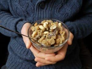 Glace-banane-beurre-de-cacahuète.-Nice-cream-vegan-sans-sorbetière